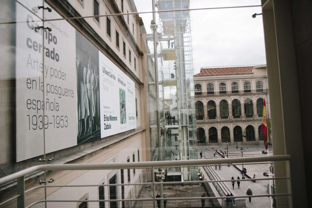 Reina Sofia Madrid Archtecture