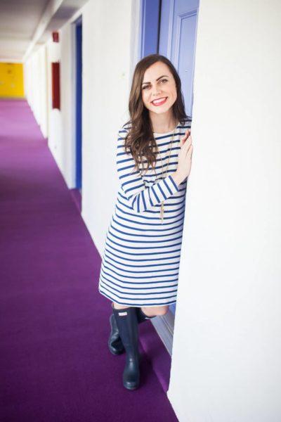 The Classic Striped Dress
