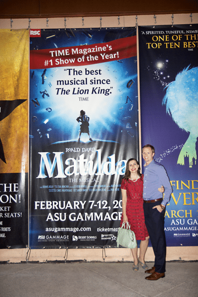 Matlida the Musical Date