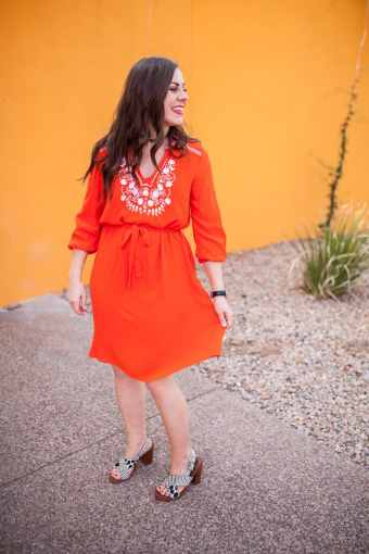 That Surprisingly Versatile Bright Embroidered Dress