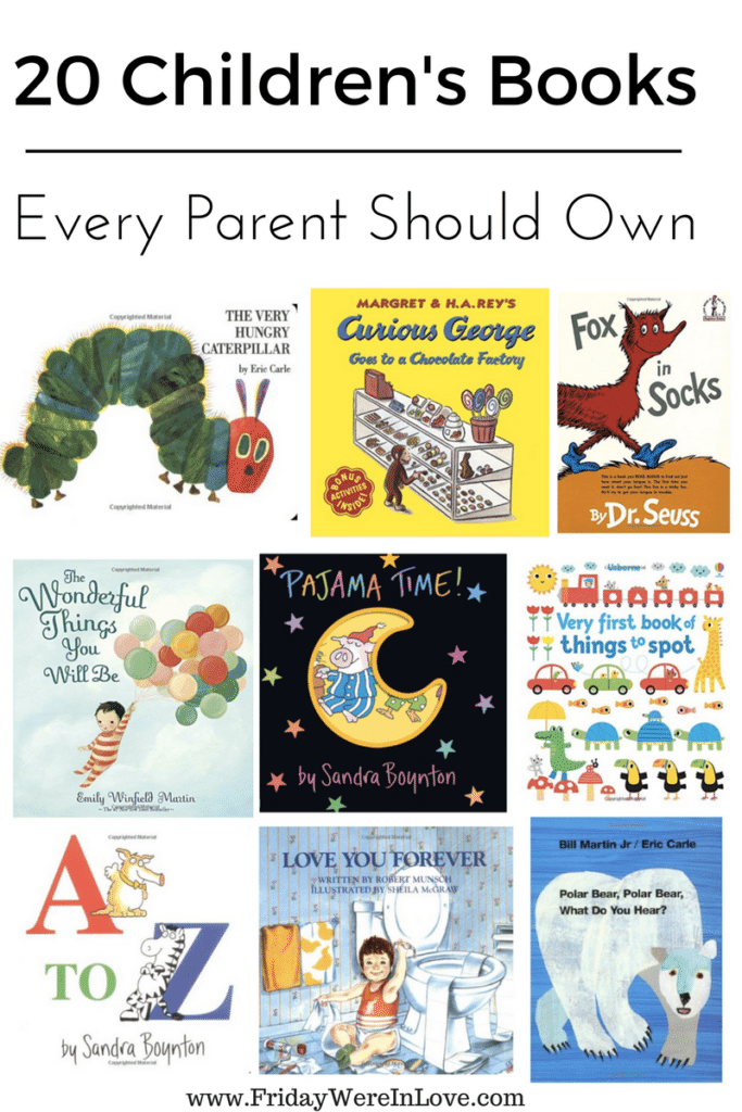 Book recommendations for babies