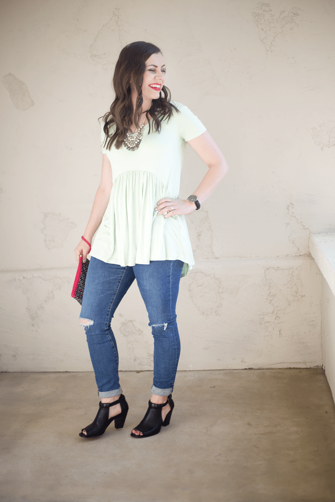 Perfect peplum tunic for all occasions