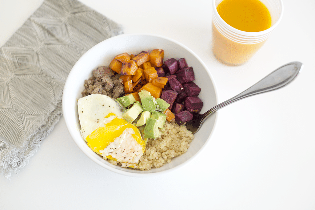 Savory and Sweet Breakfast Bowl Recipe