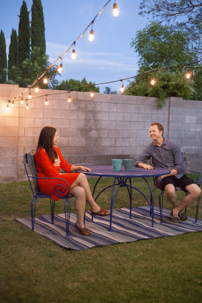 Creating a Romantic Backyard Date Space