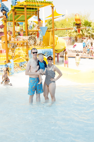 Wet 'n' Wild Water Park Family Date