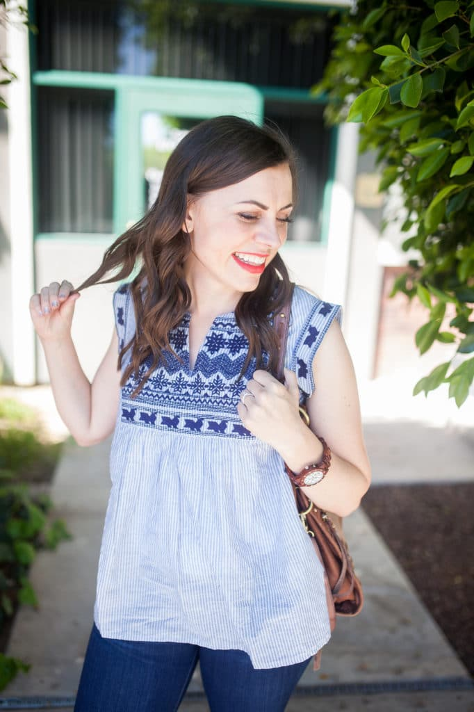 25 embroidered tops perfect for summer