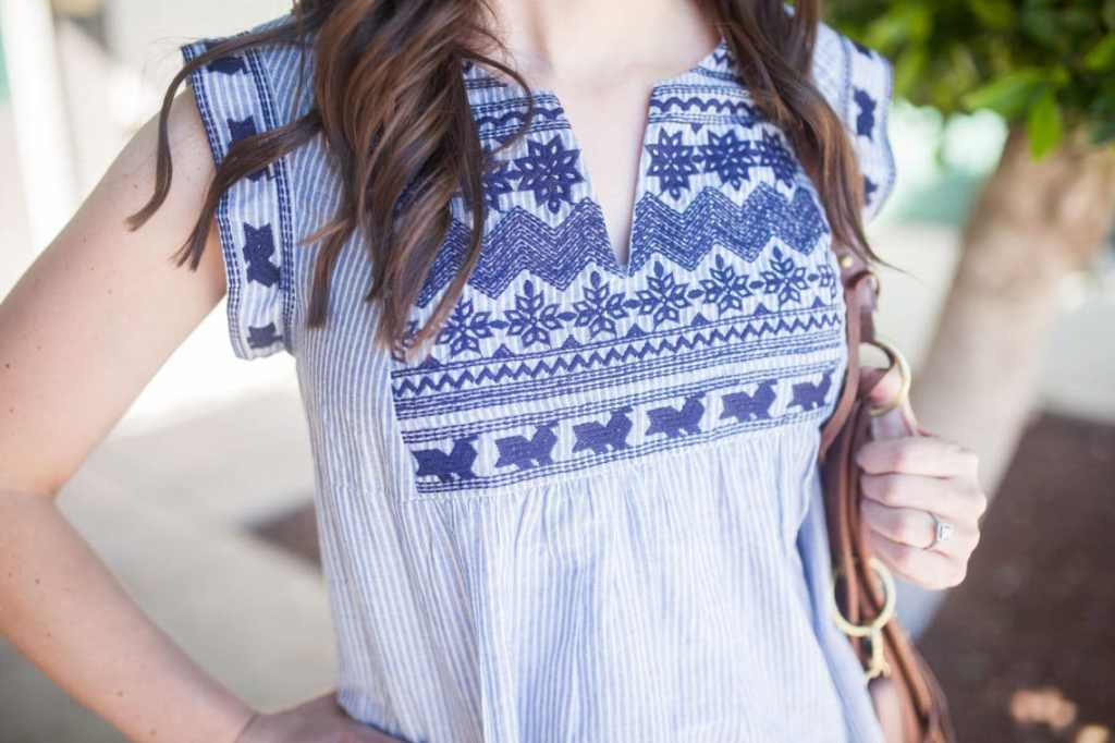 Date night outfit summer edition: 25 embroidered tops perfect for summer