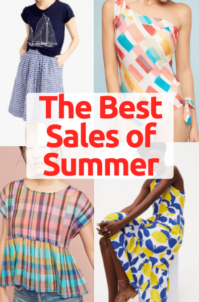 The Best Sales of Summer 2017