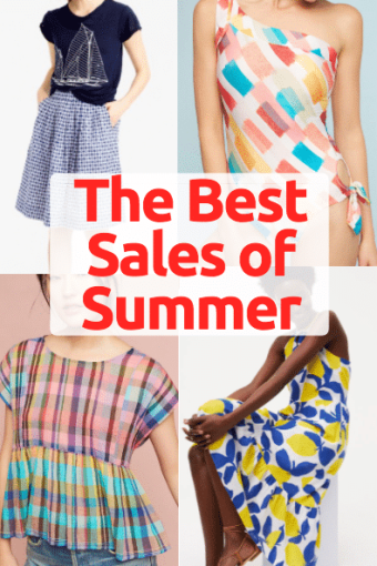 The Best Sales of Summer and 4th of July Weekend