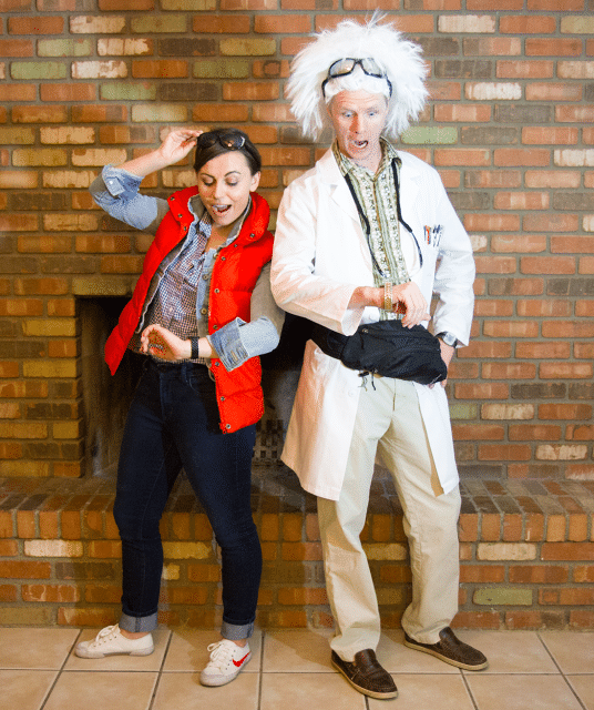 150 Couple's Halloween Costume Ideas: Doc and Marty