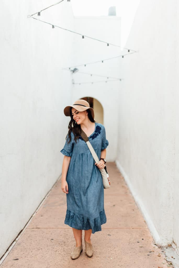 20 Chambray Dresses You'll Love