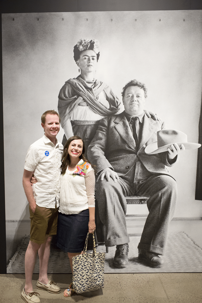 Date Date with Frida and Diego: Visiting Frida Kahlo and Diego Rivera museum art and why this creative date night idea should be on your date night bucket list!