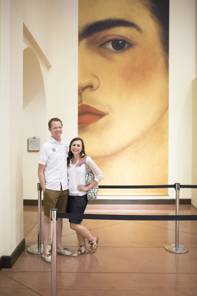 Double Date with Frida and Diego: Visiting Frida Kahlo and Diego Rivera museum art and why this creative date night idea should be on your date night bucket list!