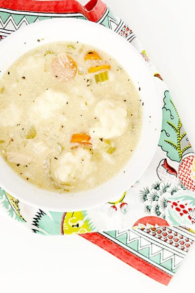 Crock Pot Chicken and Dumplings: This easy slow cooker chicken dinner is so good, and works perfectly as a Crock Pot Freezer meal too!
