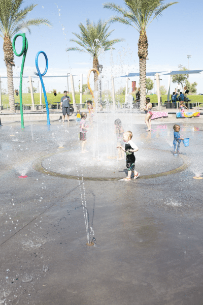 Splash Pad Family Date and Beating Toddler Dehydration