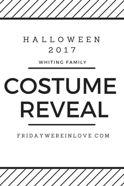 Family Halloween Costume Reveal