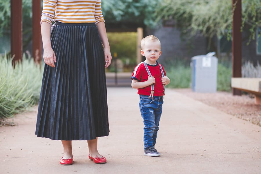 From Mom Life to Date Night Outfit Idea