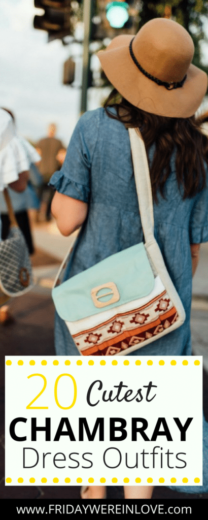 20 Chambray Dresses You'll Love!