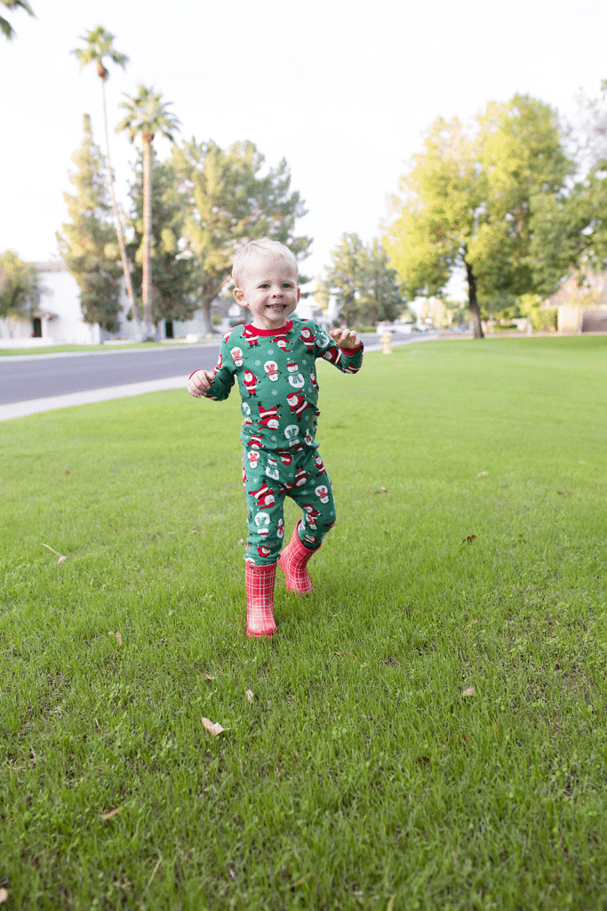 It's holiday jammies time! The cutest holiday jammies and one of the cheapest places to get holiday jammies for baby, toddler, and kids!