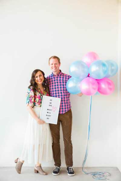 Outdoor Gender Reveal Party: It's A….