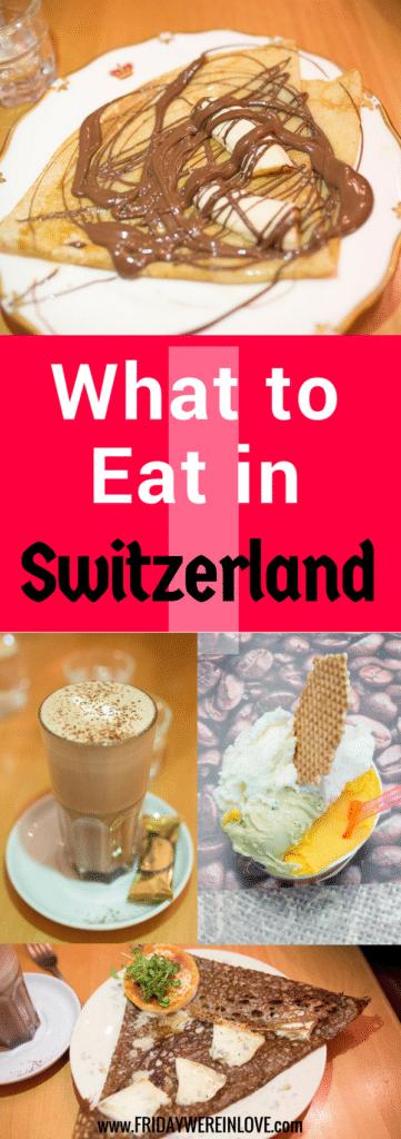 What to eat in Switzerland: The top foods you must eat when traveling through Switzerland #switzerlandtravel #travelfood #travelguide
