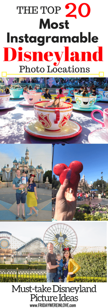 The Top 20 Most Instagramable Disneyland Photo Locations