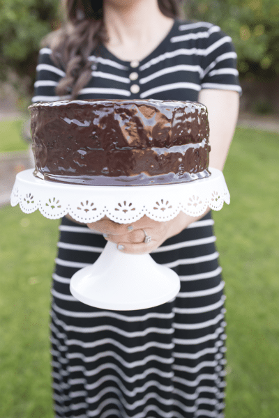 The best chocolate cake recipe: death by chocolate cake with old fashioned gourmet ingredients and a ganache frosting you'll never forget!