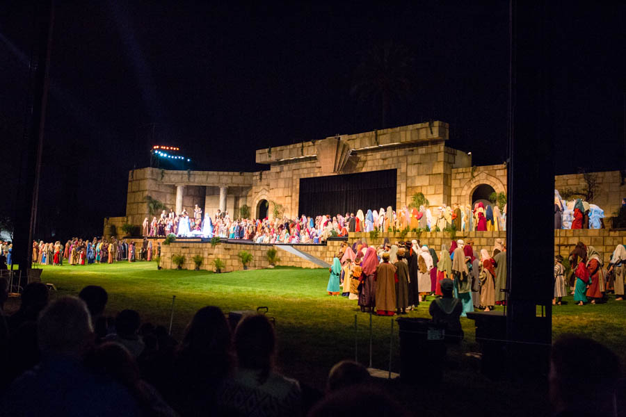 The Mesa Temple Easter Pageant