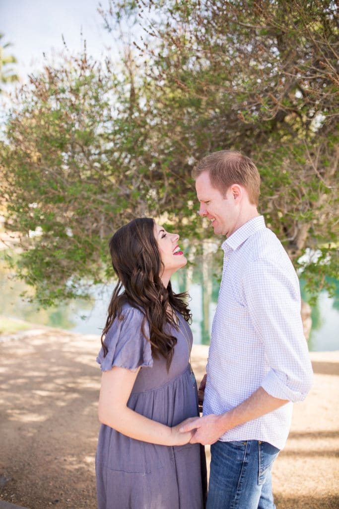 couple's photo shoot on their anniversary