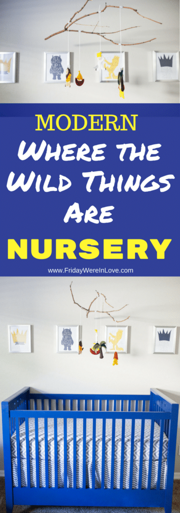 Where the Wild Things Are Nursery Reveal