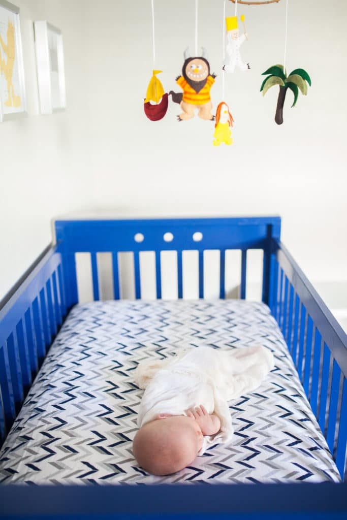 A statement crib to pull the nursery together