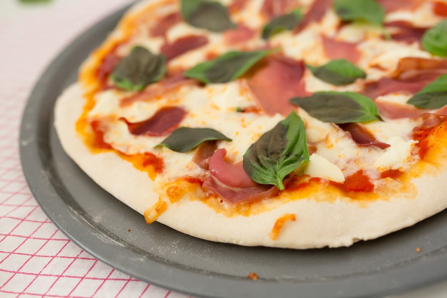 Quick Pizza Dough you can make in an hour!