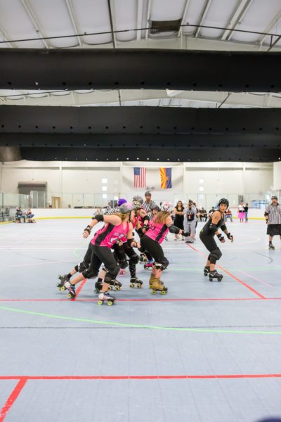 Unique date idea: visit the roller derby
