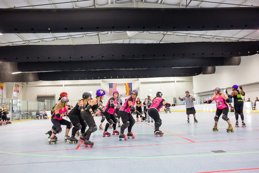 Roller Derby Night- a fun and creative date idea!