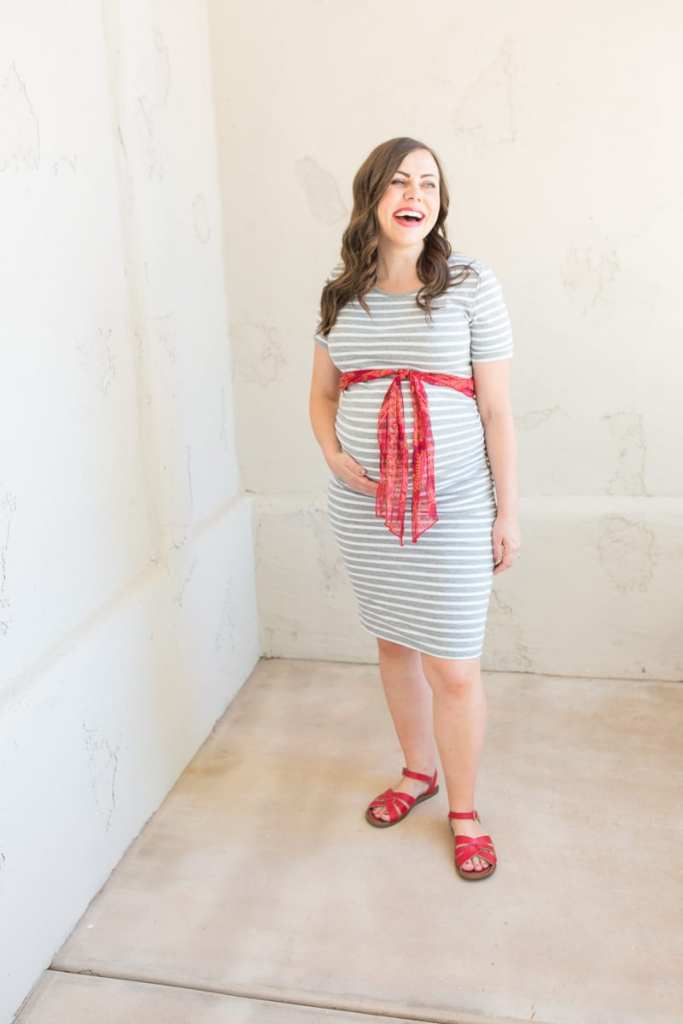 Easy and inexpensive maternity outfits