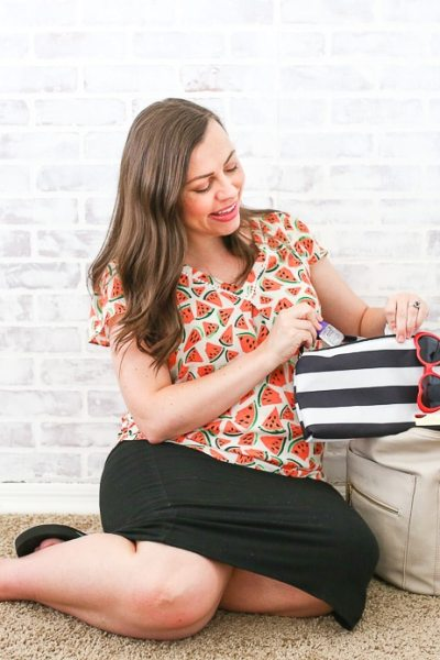 What's in the diaper bag for me