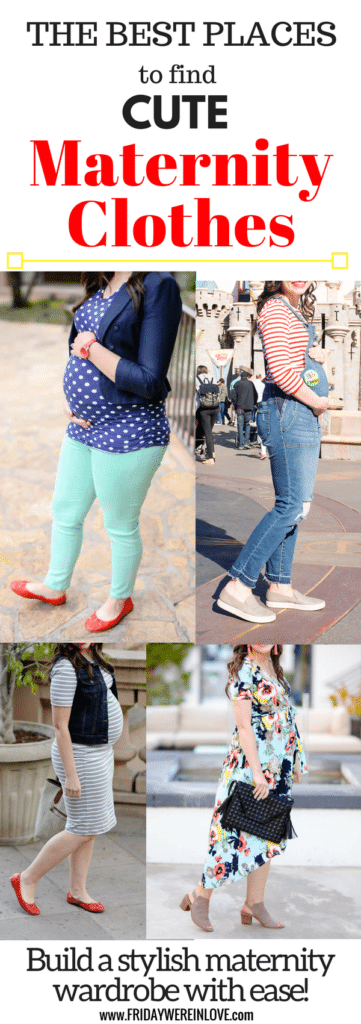 The Best Places to buy maternity clothes: Cute maternity clothes you'll love!