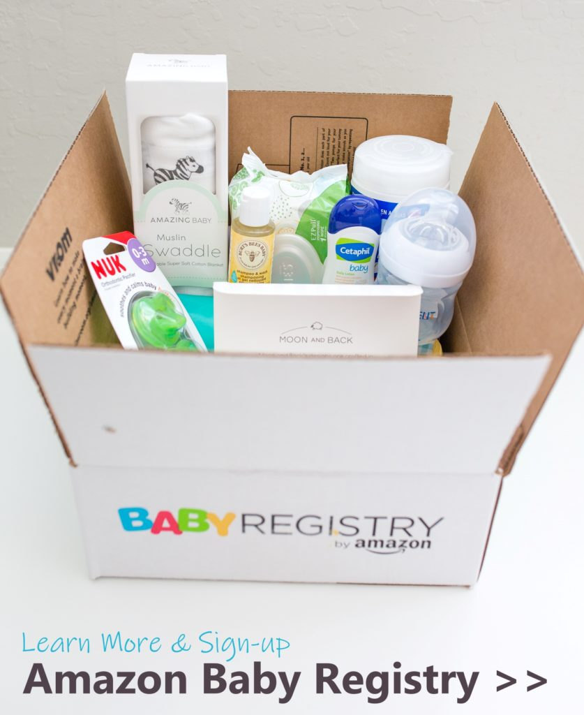 How to Create an Amazon Baby Registry