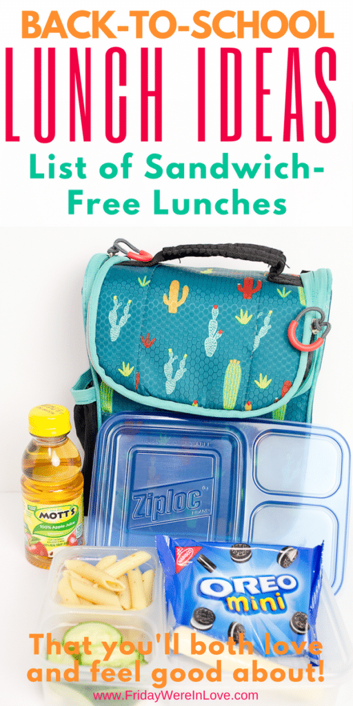 Back to school lunch ideas_ non-sandwich lunches you'll both love! (1)