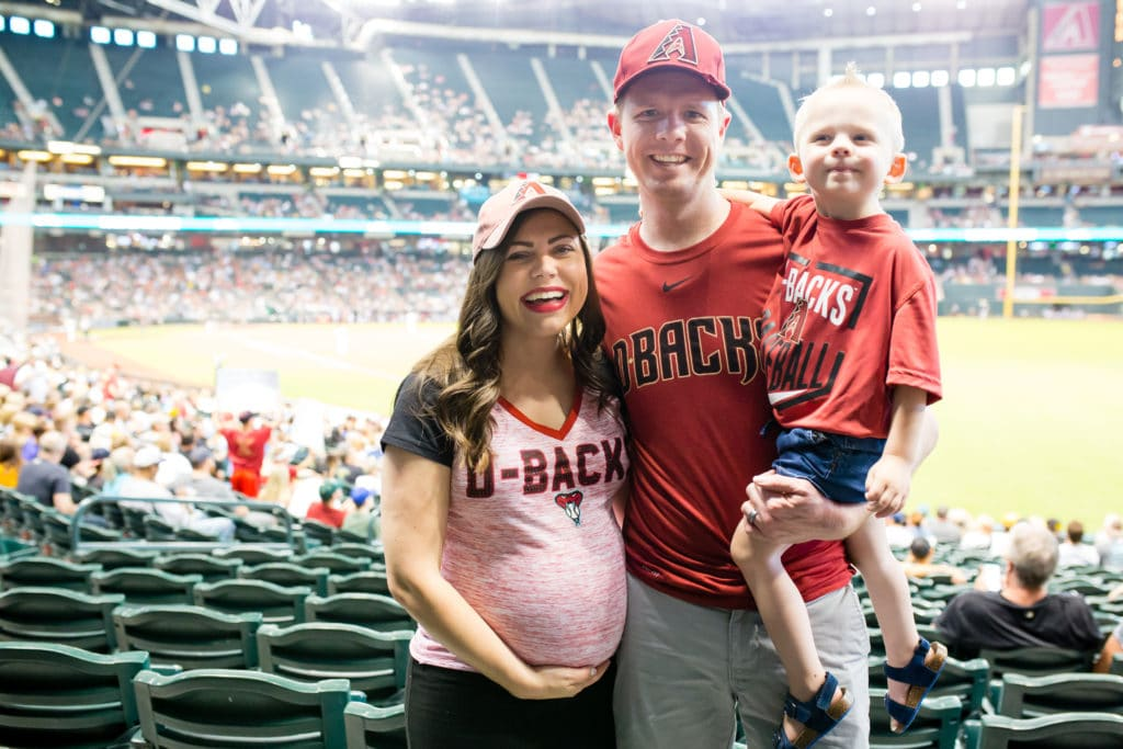 Easy summer family date night: baseball family date