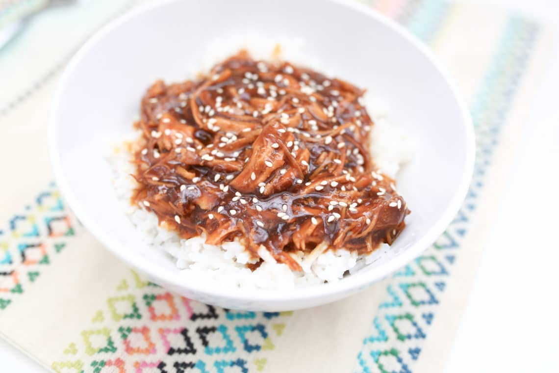 Honey Sesame Chicken Crock Pot Recipe