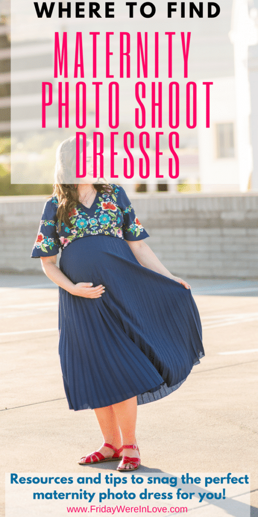 Where to find maternity photoshoot dresses