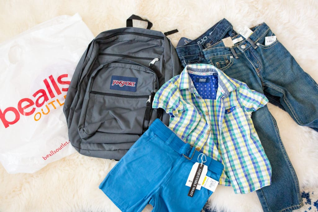 Back to school new clothes