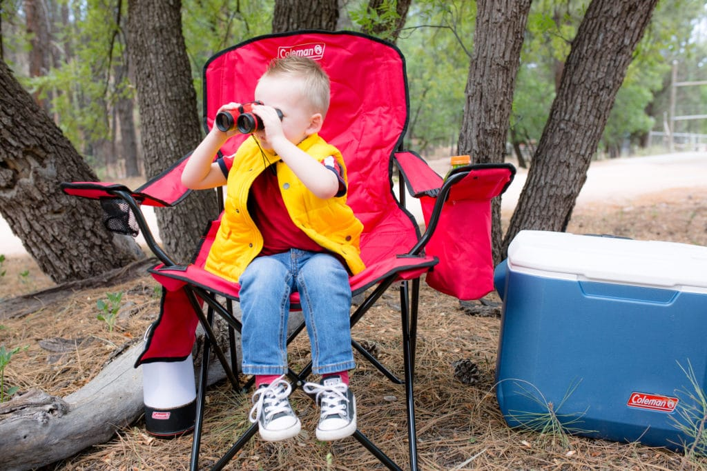 Easy camping with toddlers