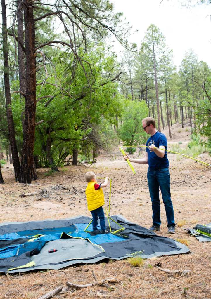 Camping with kids made easier: the best tent for family campouts