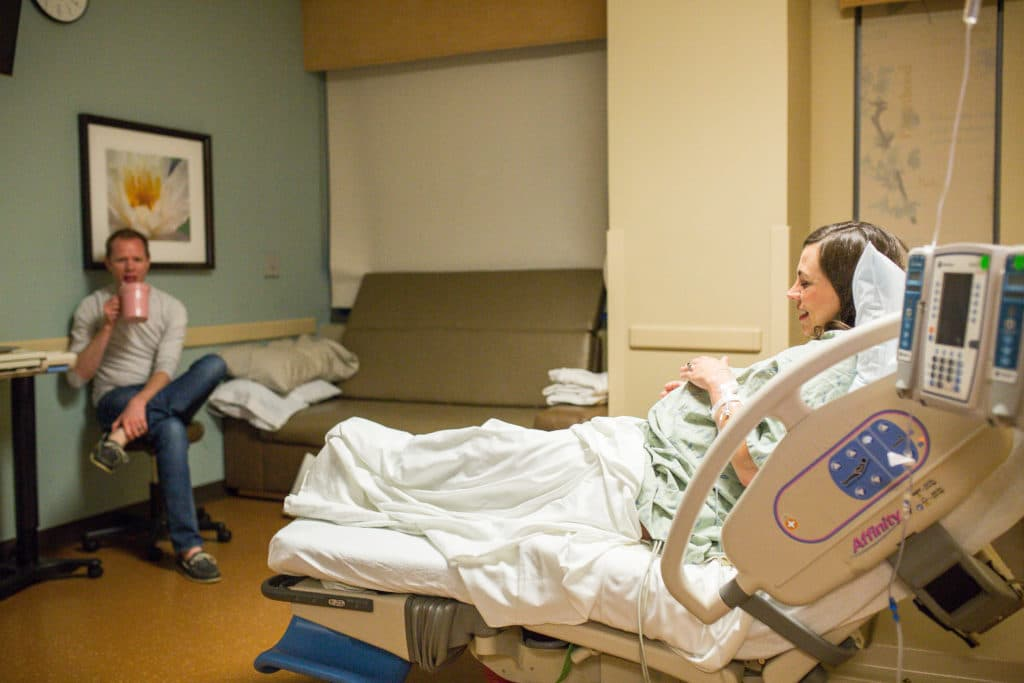 Hospital arrival: Birth Story