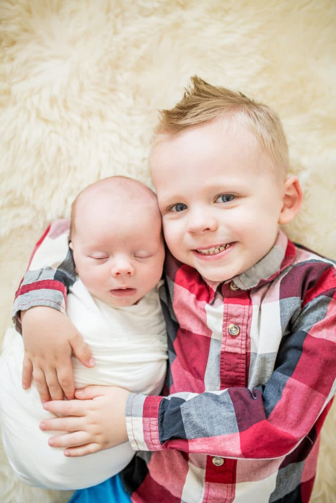 The best time to take newborn family photos