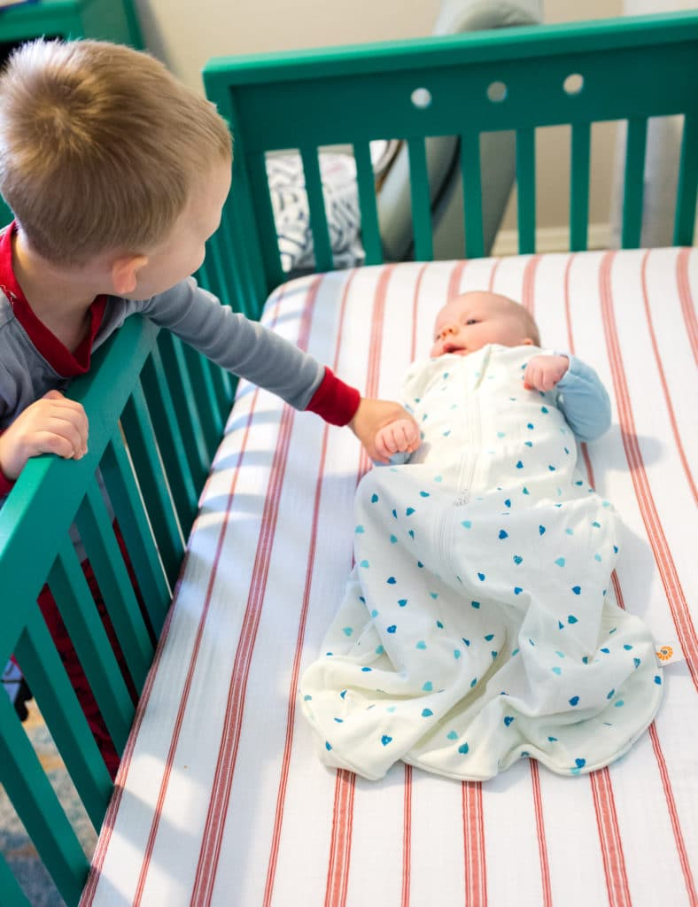 How To Get Baby To Sleep In A Crib Friday We Re In Love