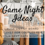 100 Couple Games 2 Player Board Games For A Date Night In