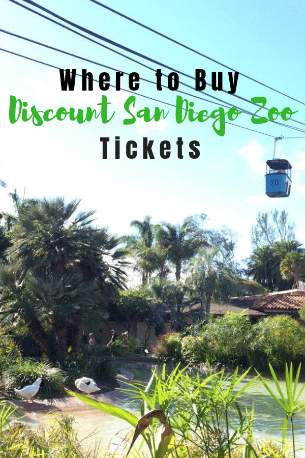 Where to buy discount San Diego Zoo Ticket